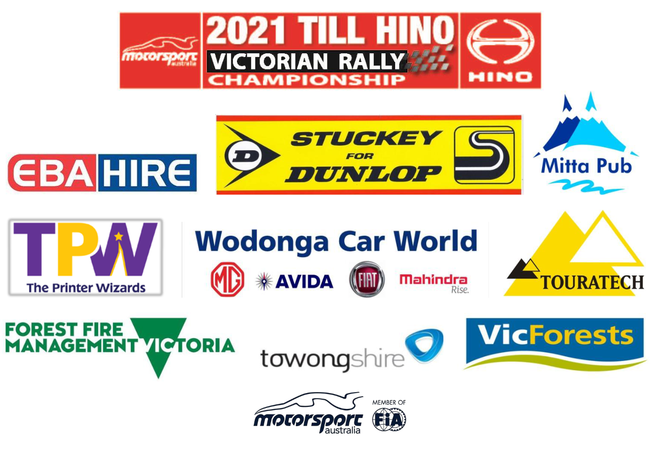 2021 Mitta Mountain Rally Supporters
